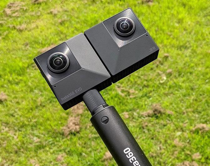 Insta360 EVO 3D/2D Convertible 360/180 VR Camera