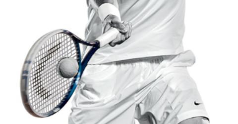 Теннисная ракетка.