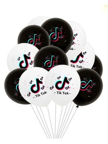 Особенности воздушных шаров с принтом Тик Ток