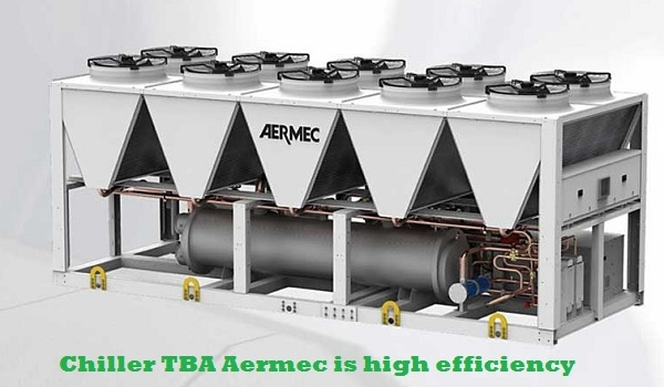 Чиллер TBA, разработанный Aermec, очень эффективный