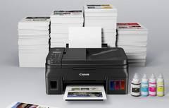 Обновленная серия  Canon PIXMA G1411, G2411, G3411, G4411 уже в продаже! Дополнительные черный чернила в комплекте!