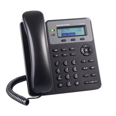 Grandstream добавляет 1-линейный IP-телефон с PoE в линейку телефонов для малого бизнеса.