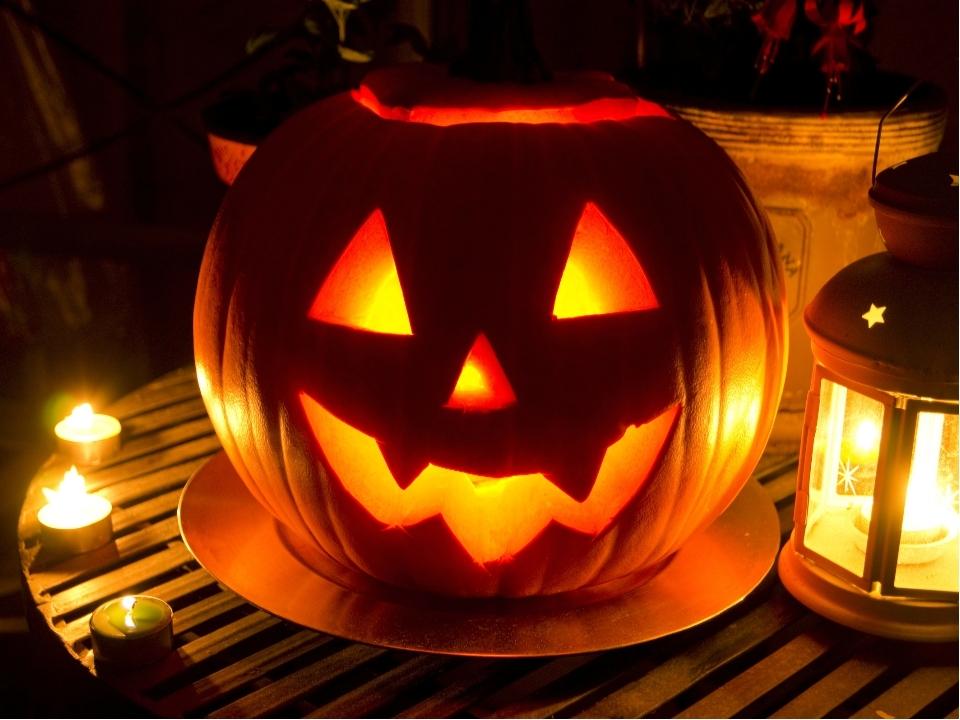 Как сделать тыкву на Хэллоуин с Led мерцающими свечами