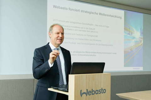 Webasto ускоряет стратегическое развитие