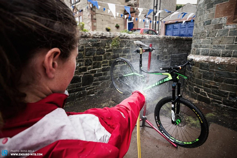 Как правильно помыть велосипед