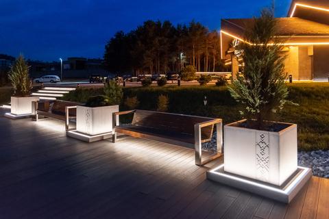 TRIF-MEBEL | Finished project – Lebyaziy Restaurant in Minsk, Republic of Belarus