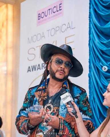 Журнал Moda topical провел ежегодную звездную премию Topical Style Awards 2020.