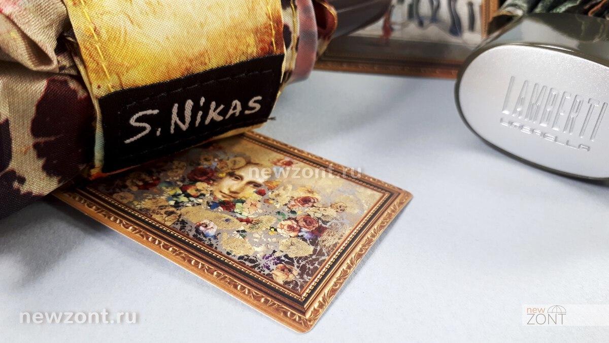 Женские и мужские дизайнерские зонты от Никаса Сафронова