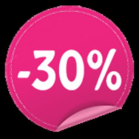 Накапливаем скидку 30%