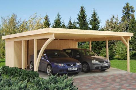 Навес для автомобиля или гараж - что выгоднее?