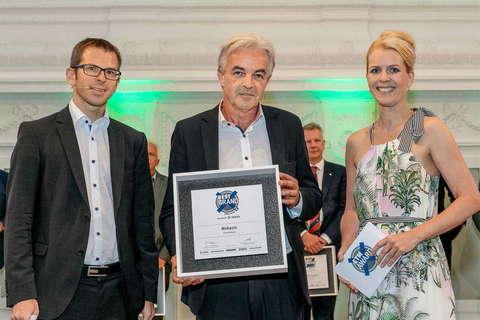 Webasto - явный победитель ETM Award 2018