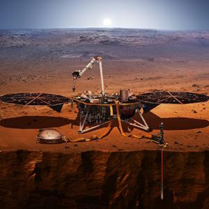 Робот приступил к бурению на Марсе
