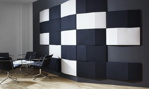 Применение акустических стеновых панелей в офисе