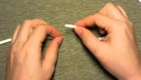 Как быстро соединить кончики шнура