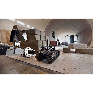 Роботы-саперы показали мастерство на выставке Robot Rodeo