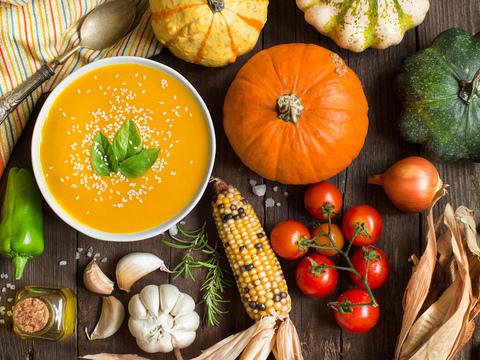 Как правильно питаться осенью