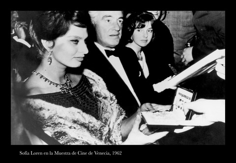 THE GLAMOUR OF THE DOLCE VITA, MAJORICA IN THE VENICE FILM FESTIVAL