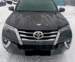 Установка предпускового подогревателя на Toyota Fortuner
