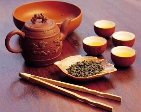 Церемония чаепития цейлонского чая.