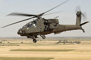 Скоростная модель геликоптера Apache проходит испытания