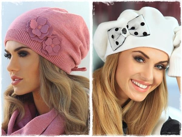 Новая коллекция 2014/2015 женских шапок от KAMEA