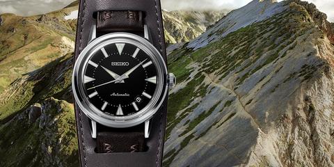 Современная интерпретация первой модели часов Seiko Alpinist 1959 г.