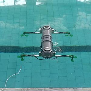 Ученые СибГУ провели испытания подводного квадрокоптера