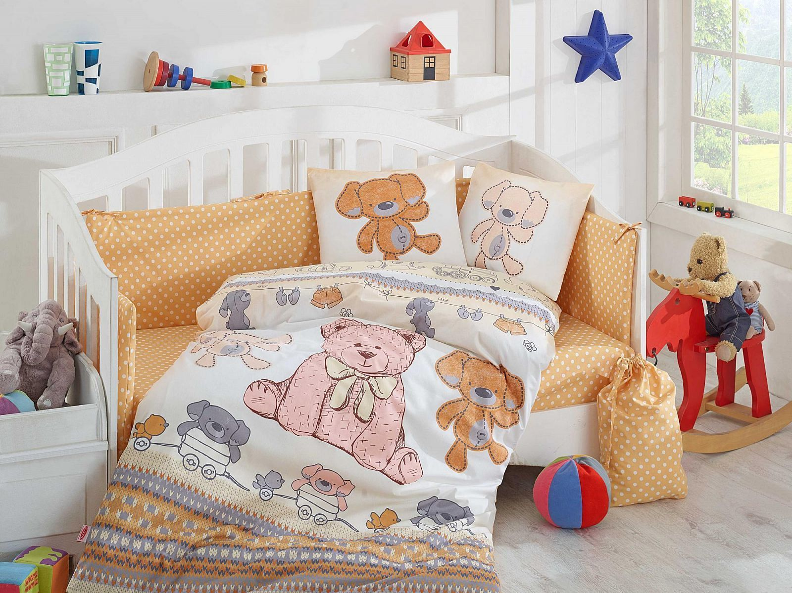 Какое постельное белье выбрать для новорождённого?