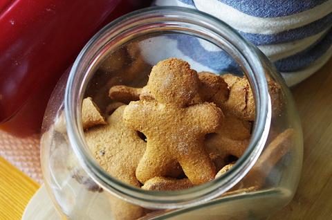 Имбирно-медовое печенье с историей :)