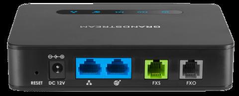 Очередная новинка от компании Grandstream: гибридный телефонный адаптер с FSX и FXO портами