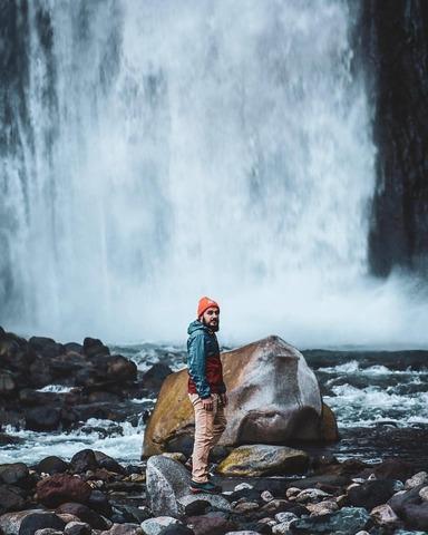 Артем на водопадах