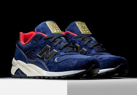 Новый спортивный look для кроссовок New Balance 580