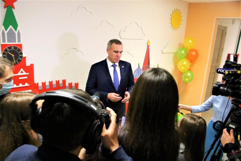 «Городская среда» впервые установлена в тюменском детском саду