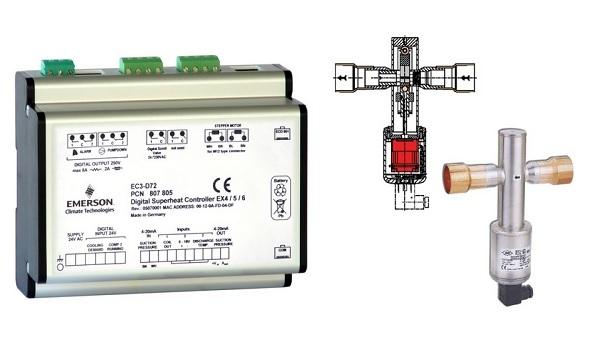 Электронные ТРВ EX и система управления от Alco Controls