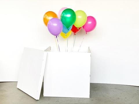 Коробка-сюрприз с шарами: как превратить обычный подарок в настоящий взрыв эмоций!