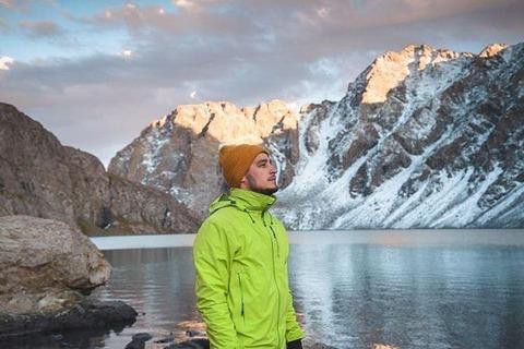 Андрей в Киргизии