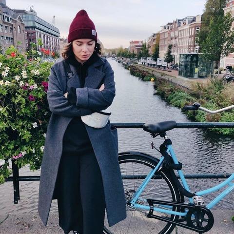 Даша в Амстердаме