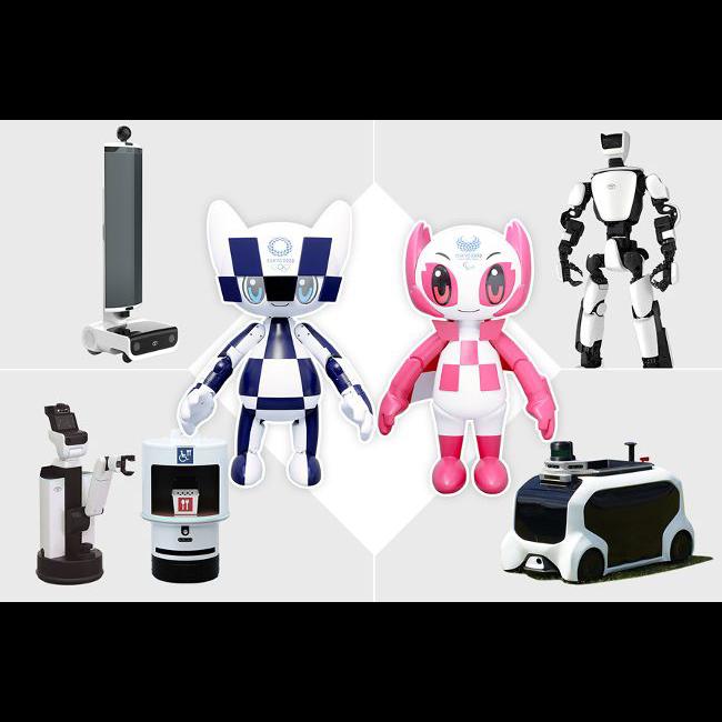 Роботы Toyota – в помощь организаторам Олимпийских соревнований