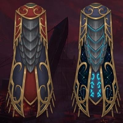 Legendary Cloak. Ashjra'kamas, Shroud of Resolve