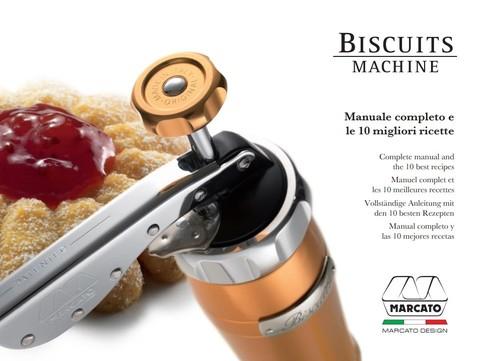 Кондитерский пресс-шприц для печенья Marcato Biscuits – инструкция и домашние итальянские рецепты печенья