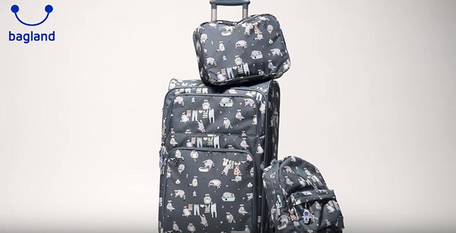 Видео обзор - чемодан Леон - Bagland