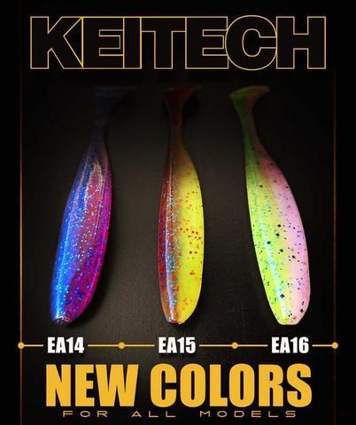 Новые цвета KEITECH
