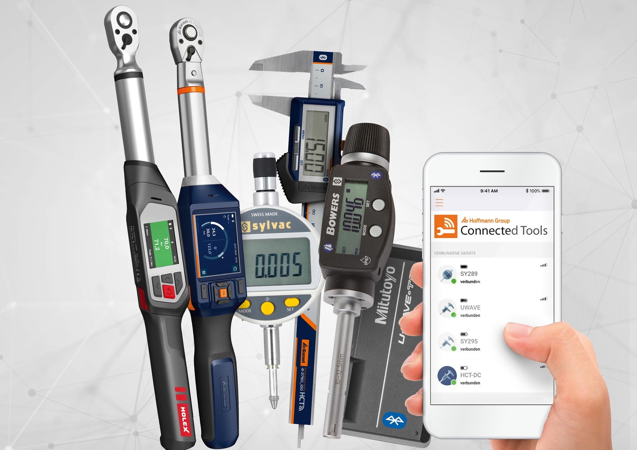 Расширение линейки Hoffmann Group Connected Tools (HCT)