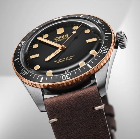 Oris Divers Sixty Five Bronze