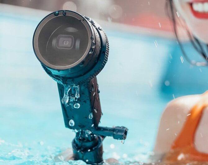 Бокс для подводной съемки DJI Osmo Pocket Waterproof Case (Part 4)