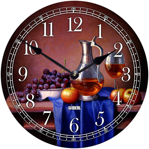 Новые часы из МДФ