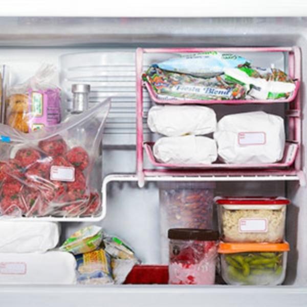 Организация хранения продуктов в морозильной камере