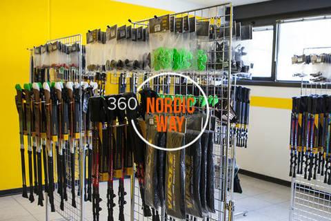 Купить скандинавские палки в Тюмени