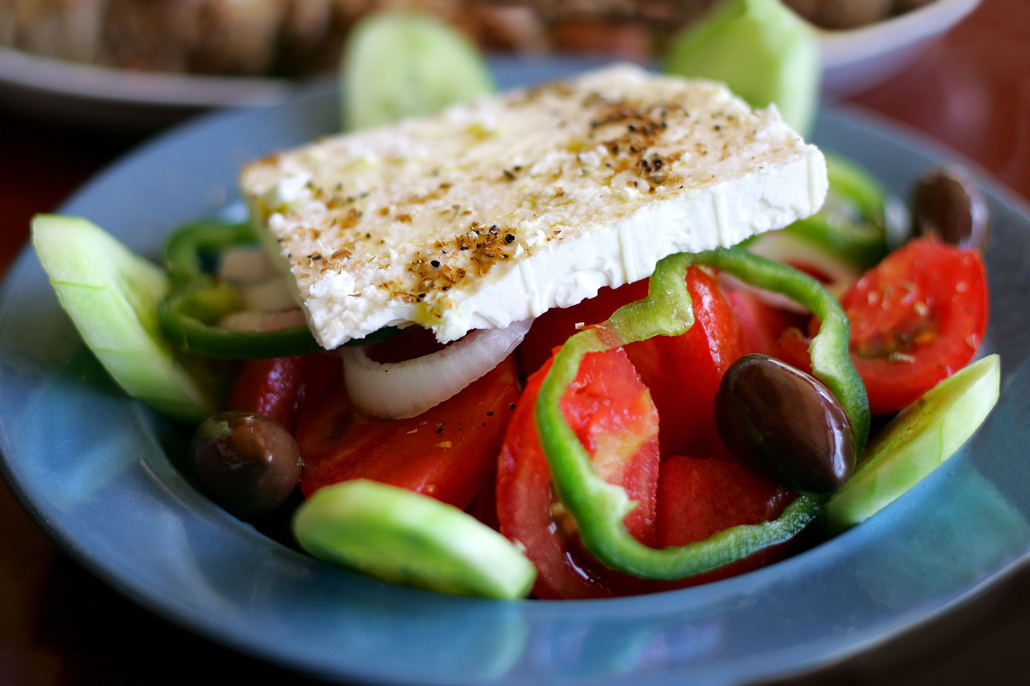 Греческий салат Хориатики