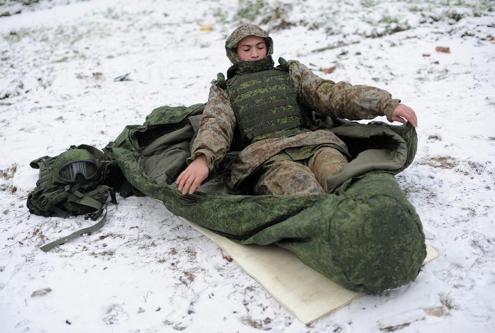 Армейский спальник – выбор профессионалов